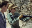 Screen of Allied - WWII Movie starring Brad Pitt