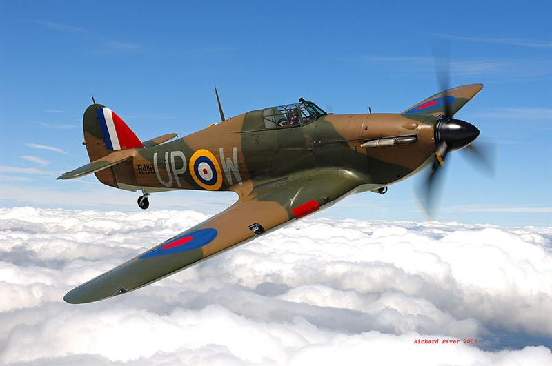 Hawker Hurricane With 5 Confirmed Kills For Sale