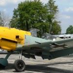 A Warbird survivor that was originally built as a Messerschmitt BF109 E-1, but upgraded to the E-4 standard is the Bf 109E owned by the Russell Aviation Group in Canada flew for the first time in 75 years.