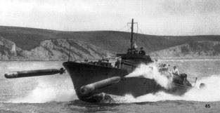 MTB 219 in service circa 1941