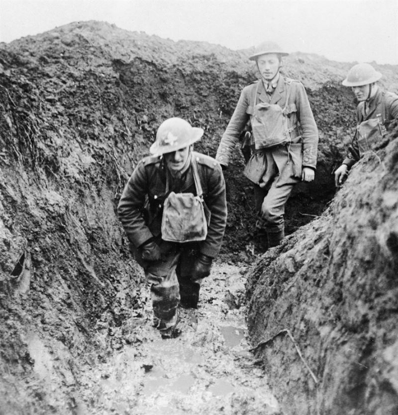 world war 1 life in the trenches
