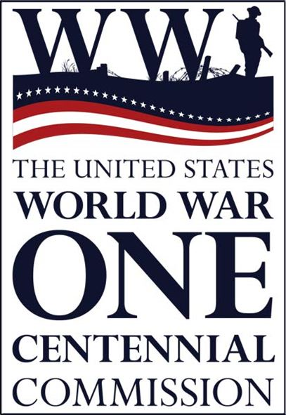 Logo of the World War One Centennial Commission.