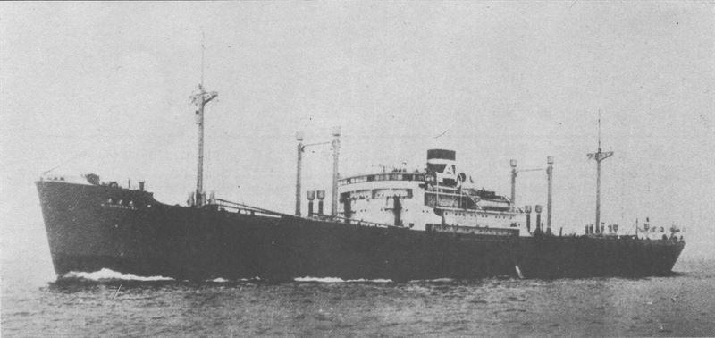 Kiyosumi Maru in 1934 (Credits: Wikimedia Commons)