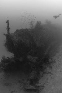 Japanese Submarine I-169 wreck. (Credits: Brandi Mueller)