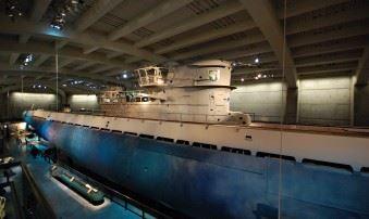 German U-boot U-505 at Museum