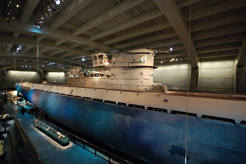 German U-boot U-505 at Museum