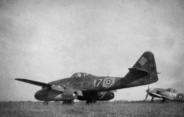 Me262 at former Luftwaffe Airfield Lübeck