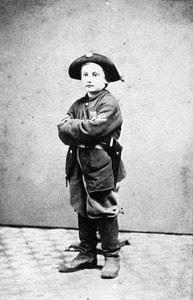 Drummer boy Clem during the American Civil War. (Credits: Public Domain)