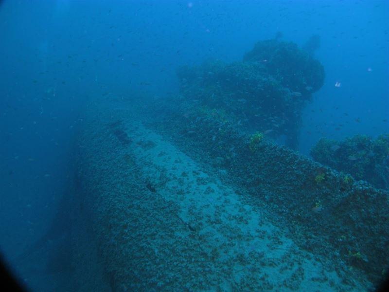 Conning tower of U-133. (Credits: Kostas Katsaros)