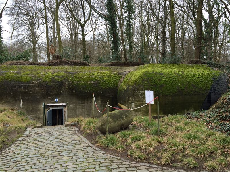 Bunker SK1 in which the museum is located