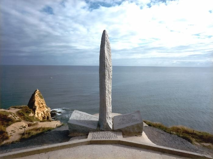 Pointe du Hoc Ranger Monument