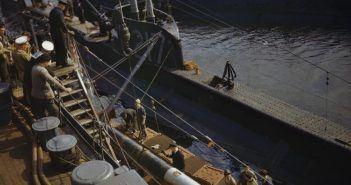 HMS P311 in Scotland, 1942. (Credits: IWM)