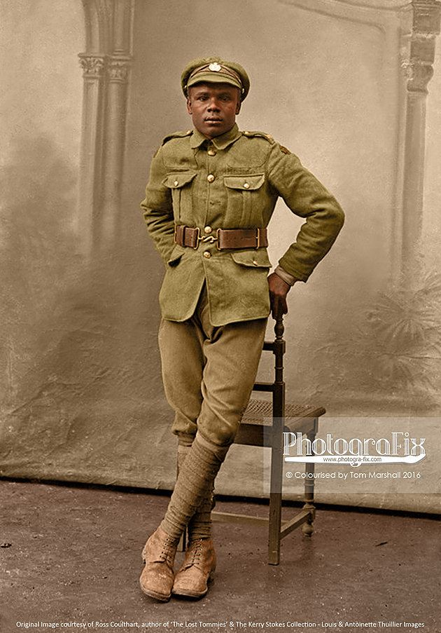 A soldier of the British West Indies Regiment.