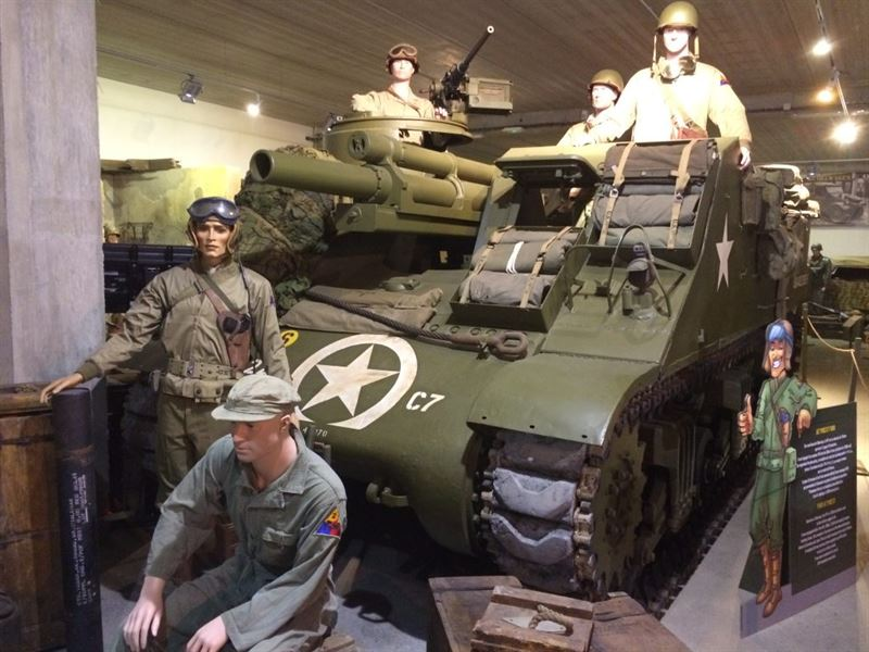 Priest Normandy Tank Museum