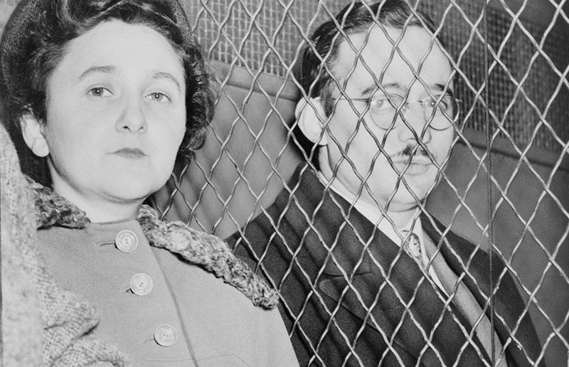 Ethel and Julius Rosenberg, after their incarceration.