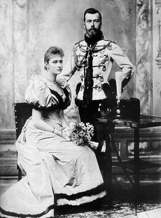Nicholas II and Alexandra Feodorovna engagement photography