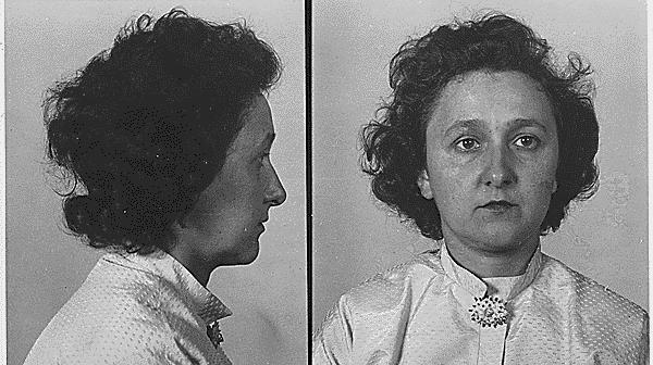 Ethel Rosenbergs mugshot.