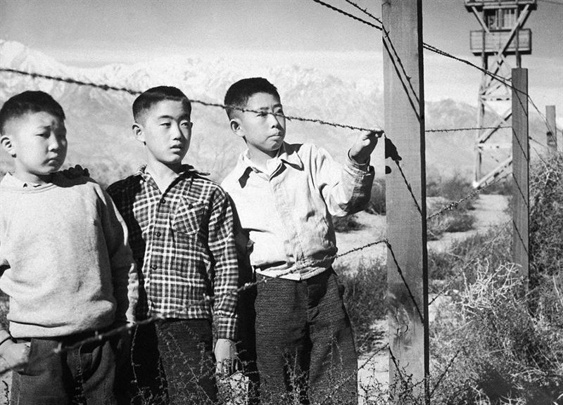 the imprisonment of innocent japanese american citizens in internment camps after the attack on pear Free japanese attack papers citizens, evacuation, imprisonment, camps] 1232 japanese-american internment during world war ii - japanese-american.