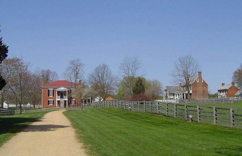 Appomattox Court House Historical Park.