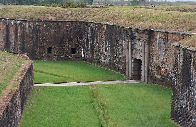 The ruins of Fort Morgan are definitely an interesting site to see when in Southern Alabama.