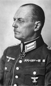 Field Marshal Gerd von Rundstedt.