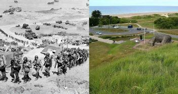 Normandy-Now-and-Then