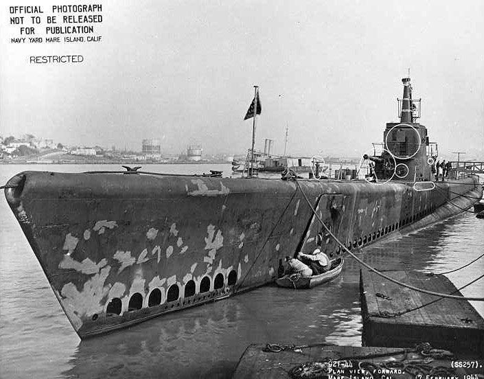 USS Harder (SS-257)