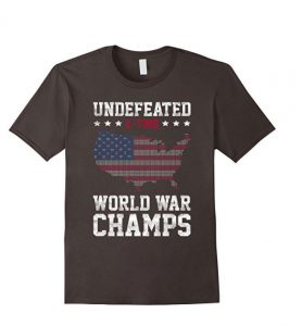Undefeated 2-Time World War Champs Vintage T-Shirt - Unisex