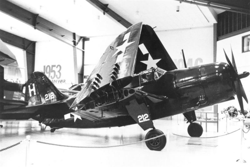 Curtiss SB2C-5 Helldiver, a World War II aircraft
