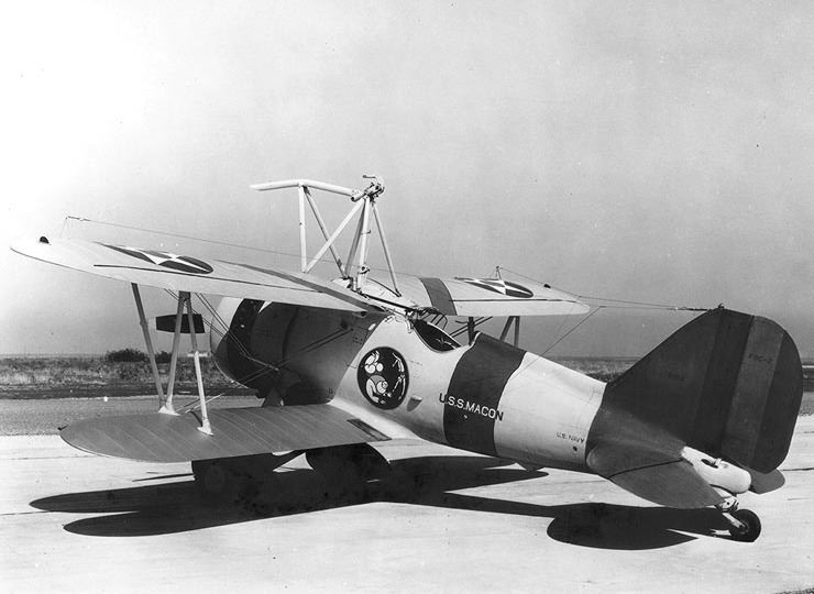The Curtiss F9C Sparrowhawk