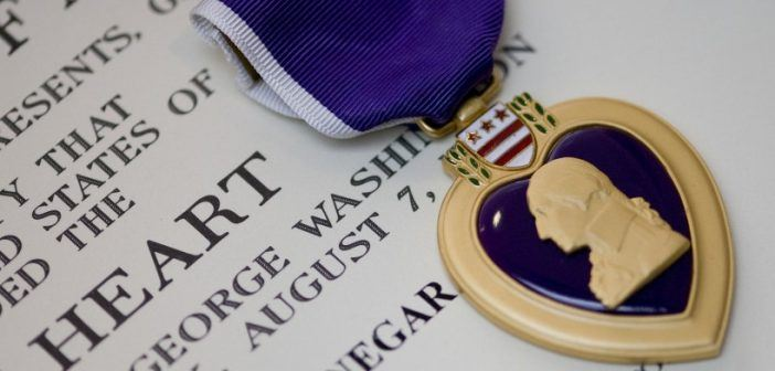Purple Heart was created by George Washington 235 years ago